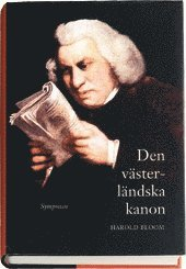 bokomslag Den västerländska kanon : böcker och skola för eviga tider