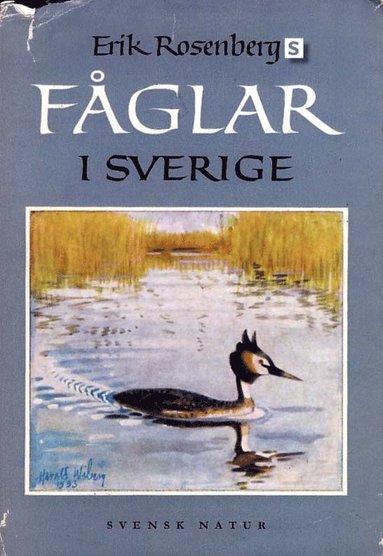 bokomslag Erik Rosenbergs fåglar i Sverige