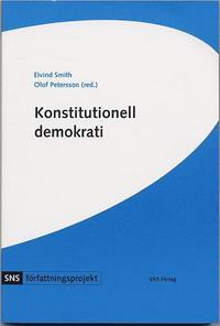 bokomslag Konstitutionell demokrati