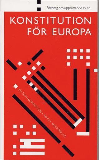 bokomslag Fördrag om upprättande av en konstitution för Europa