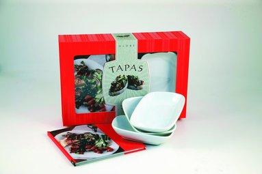 bokomslag Tapas : startpaket med receptbok, 3 skålar
