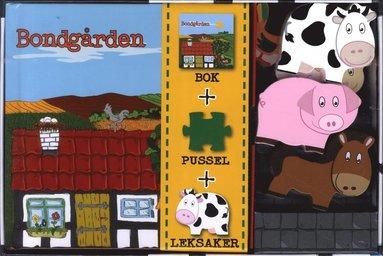 bokomslag Bondgården (bok, pussel och leksaker)