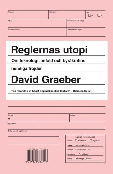 bokomslag Reglernas utopi : om teknologi, enfald och byråkratins hemliga fröjder