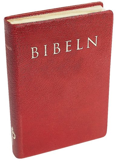 bokomslag Bibeln cabra röd mjukt band