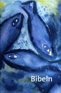 bokomslag Bibeln cartonage fiskmotiv liten