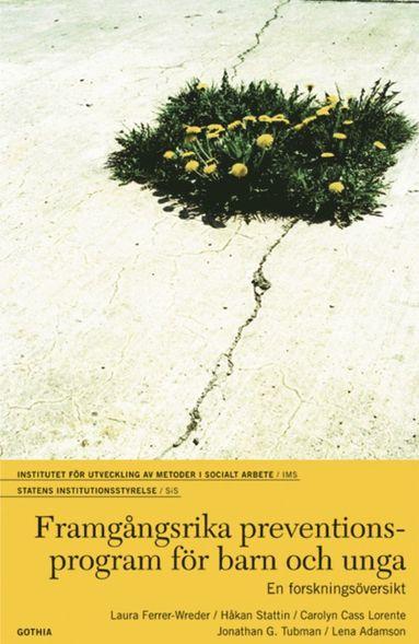bokomslag Framgångsrika preventionsprogram för barn och unga : en forskningsöversikt