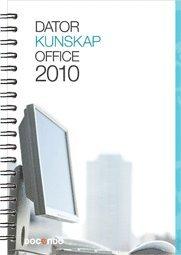 bokomslag Datorkunskap Office 2010