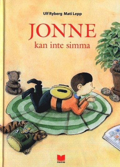 bokomslag Jonne kan inte simma