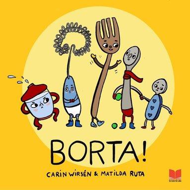 bokomslag Borta!