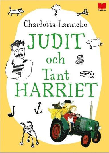 bokomslag Judit och tant Harriet
