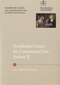 bokomslag Stockholm Centre for Commercial Law årsbok. 2