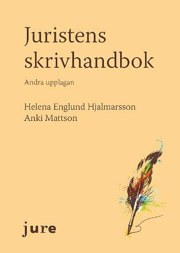 bokomslag Juristens skrivhandbok