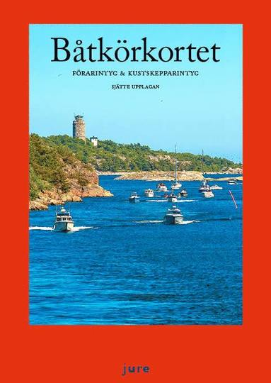 bokomslag Båtkörkortet – Förarintyg & kustskepparintyg