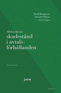 bokomslag Allehanda om skadestånd i avtalsförhållanden