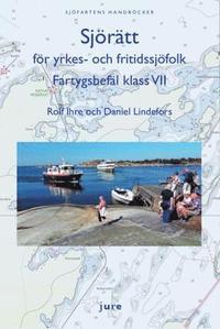 bokomslag Sjörätt för yrkes- och fritidssjöfolk - Fartygsbefäl klass VII