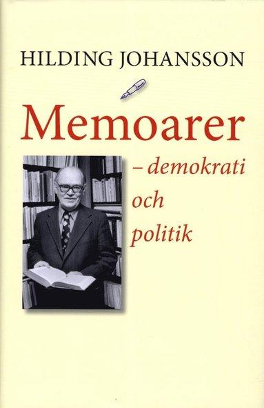 bokomslag Memoarer : demokrati och politik