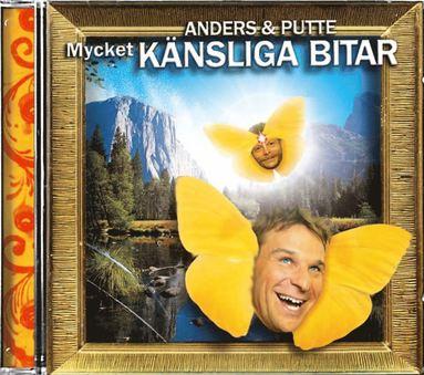 bokomslag Anders & Putte - Mycket känsliga bitar