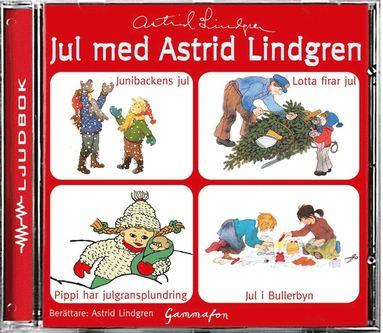 bokomslag Jul med Astrid Lindgren