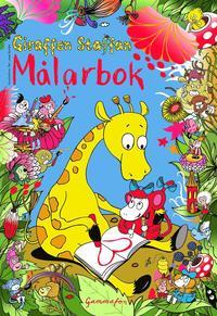bokomslag Giraffen Staffan - Målarbok - Rita och måla