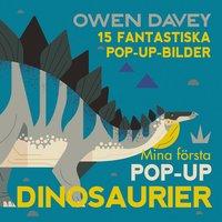 bokomslag Mina första pop-up-dinosaurier