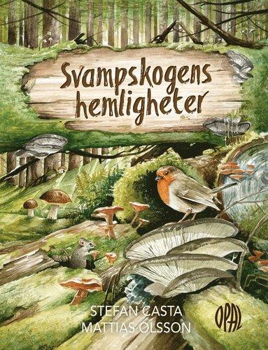 bokomslag Svampskogens hemligheter