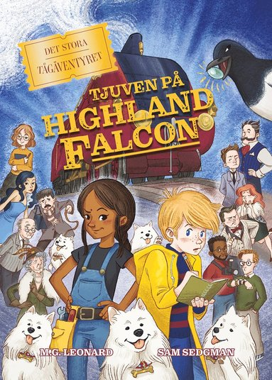 bokomslag Tjuven på Highland Falcon