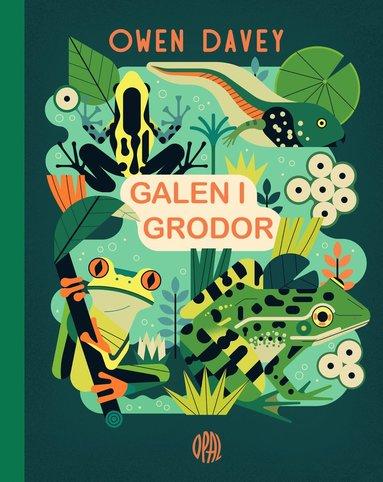 bokomslag Galen i grodor