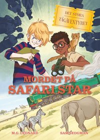bokomslag Mordet på Safari Star