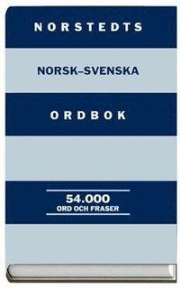 bokomslag Norstedts norsk-svenska ordbok 54 000 ord och fraser