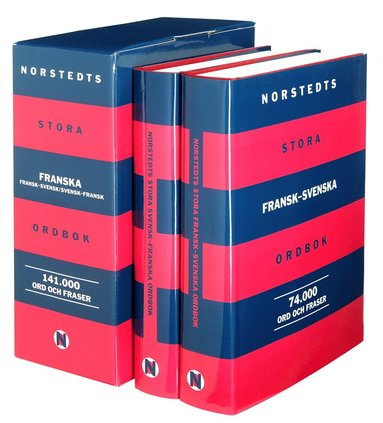 bokomslag Norstedts stora franska ordbok : fr-sv/sv-fr : 141.000 ord och fraser