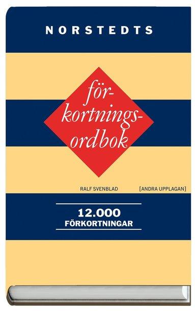 bokomslag Norstedts förkortningsordbok : 12 000 förkortningar
