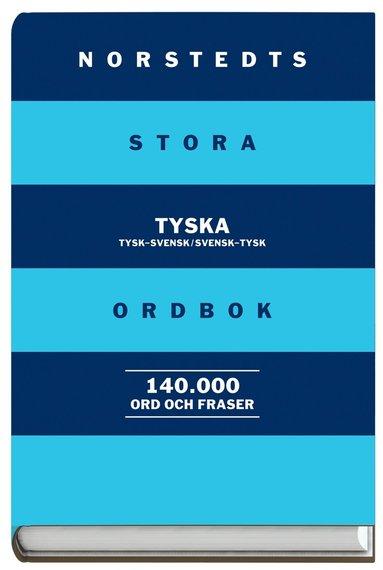 bokomslag Norstedts stora tyska ordbok - Tysk-svensk/Svensk-tysk