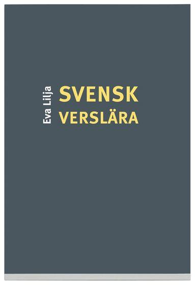 bokomslag Svensk verslära