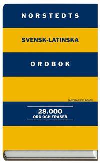 bokomslag Norstedts svensk-latinska ordbok - 28.000 ord och fraser
