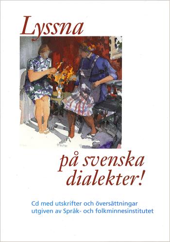 bokomslag Lyssna på svenska dialekter !