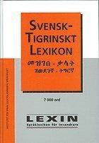 bokomslag Svensk-tigrinskt lexikon