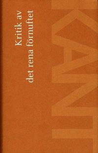 bokomslag Kritik av det rena förnuftet