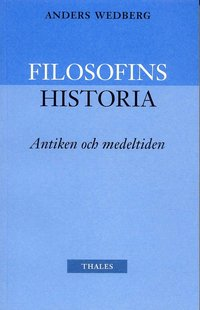 bokomslag Filosofins historia - antiken och medeltiden