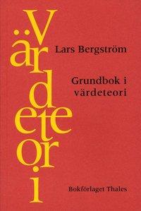 bokomslag Grundbok i värdeteori