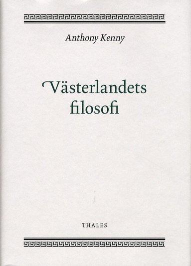 bokomslag Västerlandets filosofi