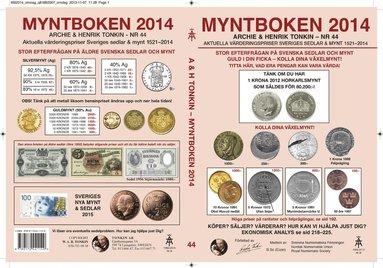bokomslag Myntboken 2014 Nr 44