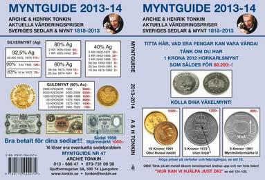 bokomslag Myntguide Nr 47 2013/2014