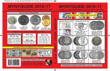 bokomslag Myntguide Nr 50 2016/2017