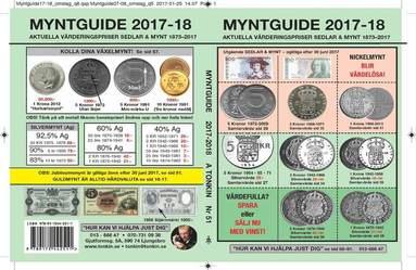 bokomslag Myntguide Nr 51 2017/2018