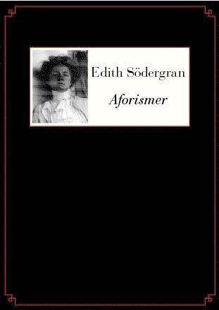 bokomslag Aforismer