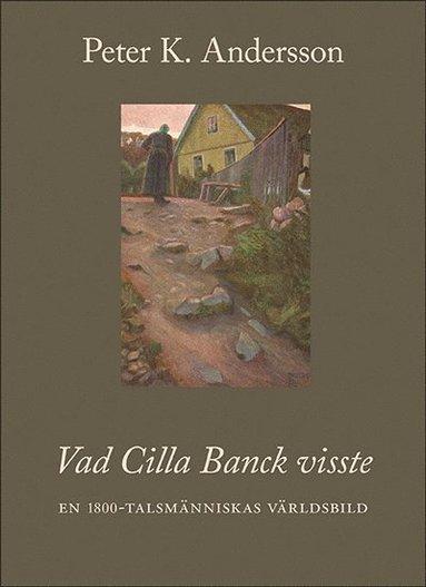 bokomslag Vad Cilla Banck visste : en 1800-talsmänniskas världsbild