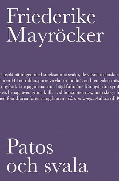bokomslag Patos och svala