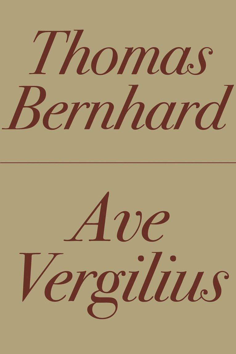 Ave Vergilius 1