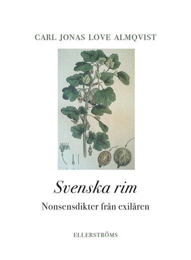 bokomslag Svenska rim. Nonsensdikter från exilåren