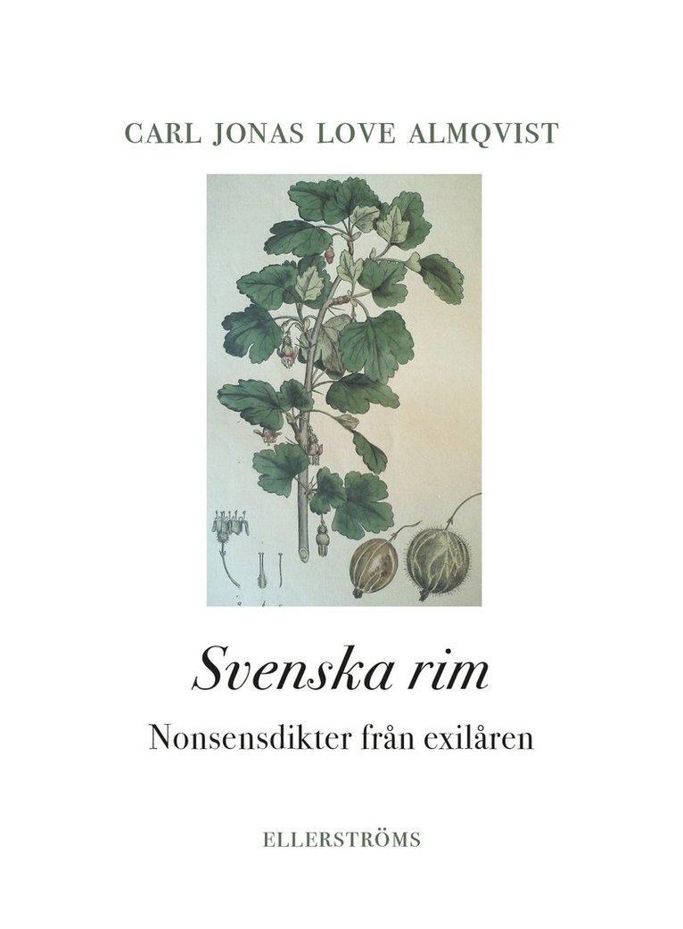 Svenska rim. Nonsensdikter från exilåren 1